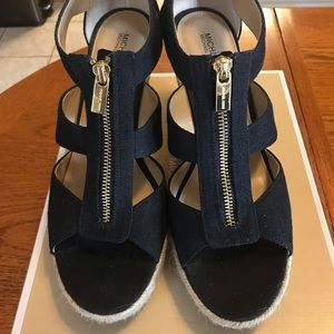 Michael Kors Wedge Sandals size 9.5